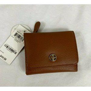 Giani Bernini Softy Leather Trifold Wallet NEW